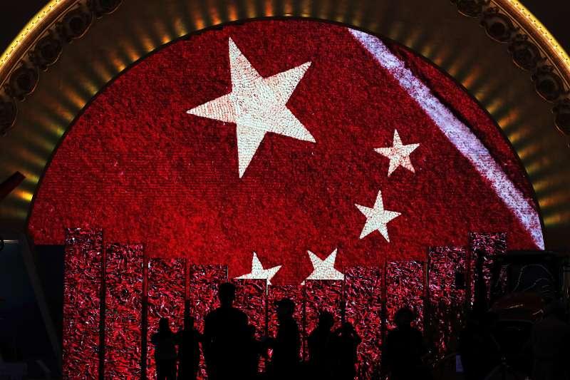 2017年10月18日至24日,中共十九大在北京召開,「五桶」成了新名詞。(AP)