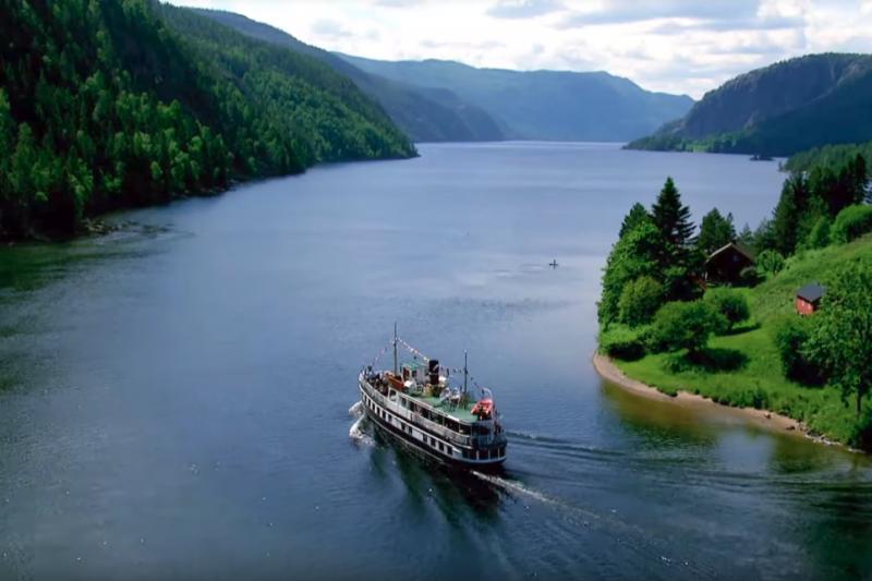 挪威NRK電視台推出一系列「慢電視」節目,不剪接畫面,長時間直播不同主題,超無聊內容竟大受民眾歡迎。(圖/截自NRK Youtube)