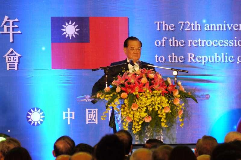 「中共十九大提出Sweeping Vision」連戰:台灣課綱竟要刪開羅會議-風傳媒