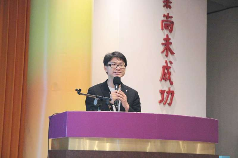 冤獄平反協會執行長羅士翔。(取自冤獄平反協會臉書)