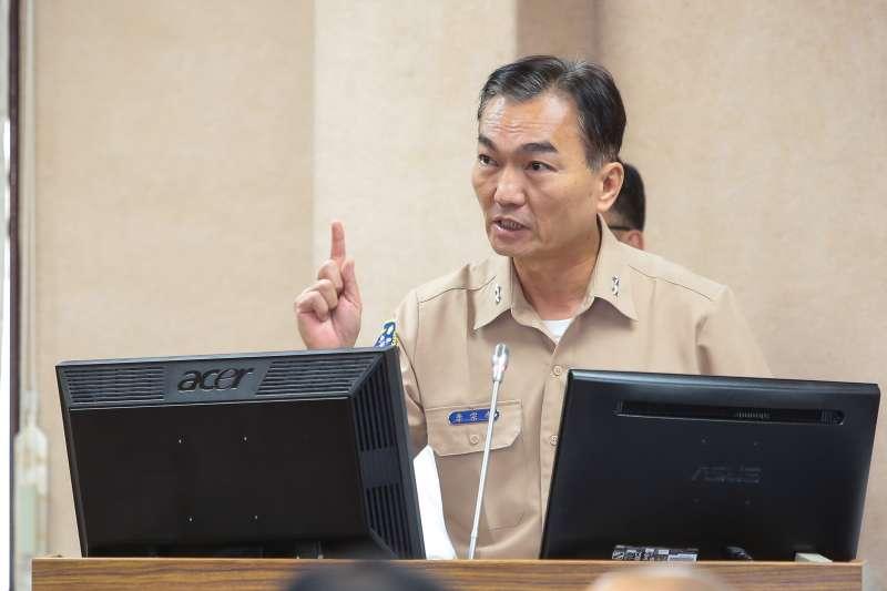 20171025-海軍參謀長李宗孝25日至立院委員會備詢。(顏麟宇攝)