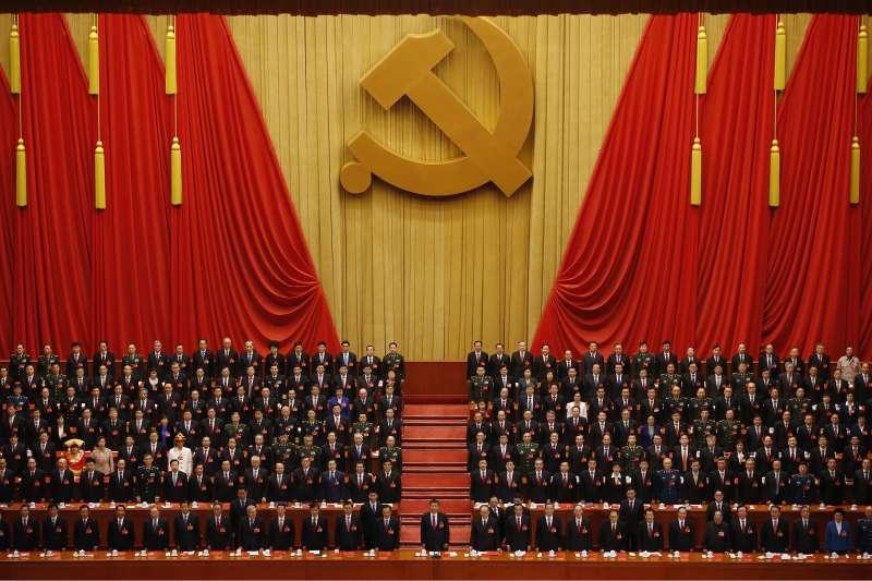 習近平強人時代揭幕,高舉社會主義大旗。(資料照,美聯社)