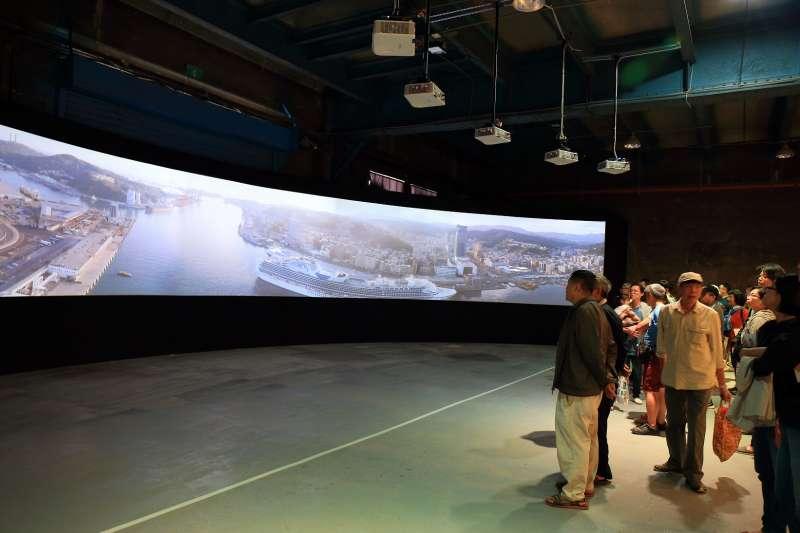 2017基隆產業博覽會展現基隆海港明珠的新風貌。(圖/基隆市政府提供)