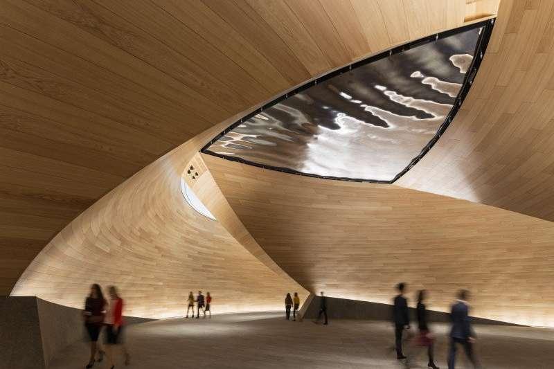 彭博社位於倫敦的新總部獲得綠建築認證。(Mike Bloomberg Twitter)