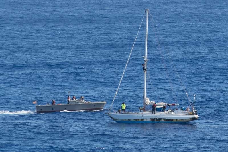 外交部說,根據航跡圖及相關資料顯示,台灣漁船並沒有美籍女子所稱衝撞、意圖謀殺的情況,美籍女子指控是莫須有的事,「跟事實完全不符」。(資料照,U.S. Navy photo by Mass Communication Specialist 3rd Class Jonathan Clay/Released)
