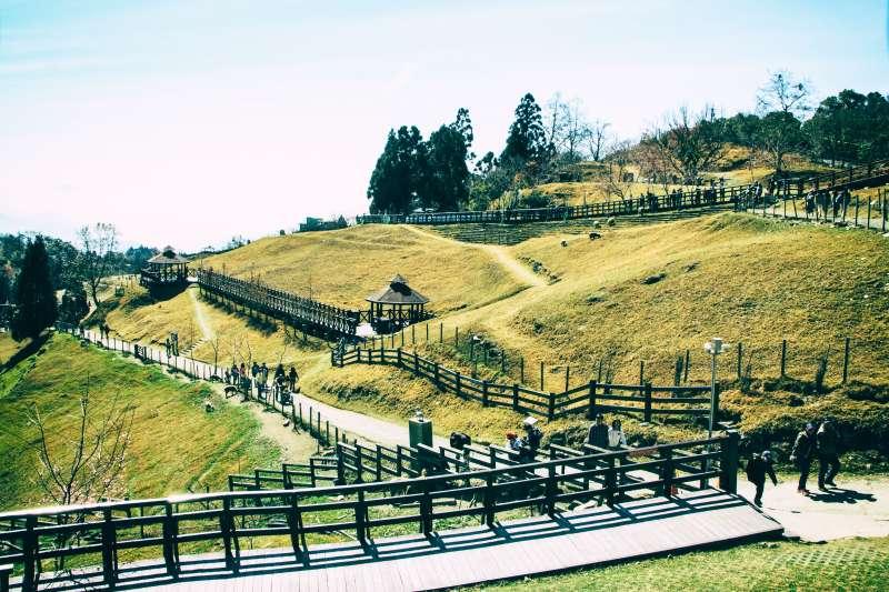 一整片翠綠草原,清境農場總是吸引大批遊客朝聖。(圖/Chun Li Chen@Flickr)