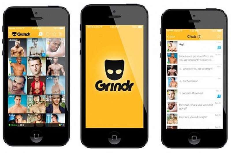 在海外最具市場的男同志交友軟體 Grindr,有著超高的用戶數跟用戶黏著率。(圖/維京人酒吧提供)