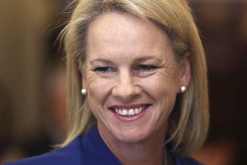 因雙重國籍問題喪失參議員資格的澳洲參議員納許(Fiona Nash)(AP)