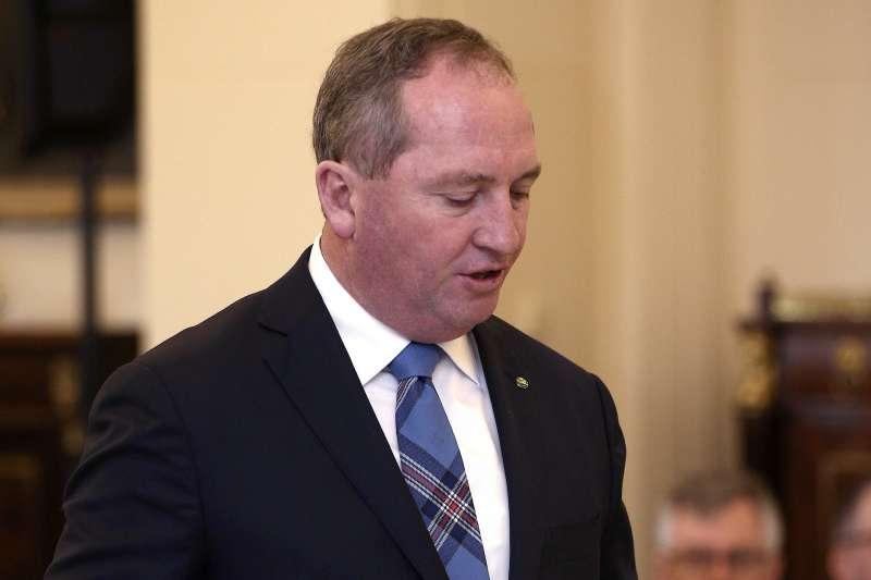 因雙重國籍問題喪失眾議員資格的澳洲副總理喬伊斯(Barnaby Joyce)(AP)