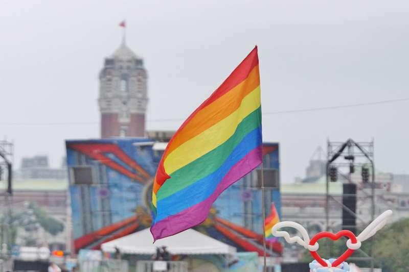 20171028-2017年台灣同志遊行Taiwan LGBT Pride,10月28日盛大登場。(盧逸峰攝)