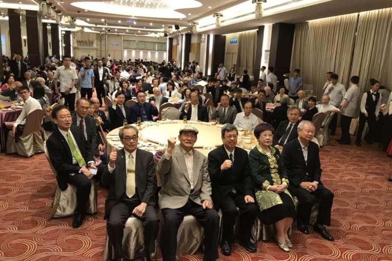 台灣聯合國協進會理事長蔡明憲表示,明年希望邀請副總統陳建仁帶隊參加UN宣達團,並盼年底前完成《公投法》修正案,推動以台灣名義加入聯合國的公投。(台灣聯合國協進會提供)
