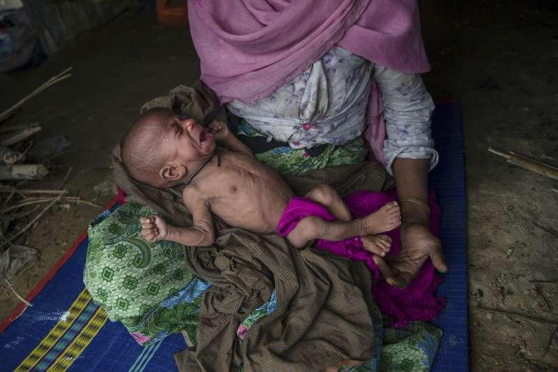 緬甸羅興亞人屠殺危機(AP)