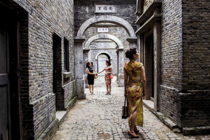 位於上海的車墩影視樂園是許多電影中「老上海」的取景地。(圖/上海影視樂園)