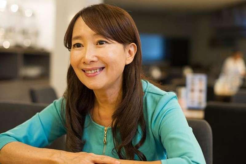 陳美齡說,比起念教育博士,3個孩子才是她最好的教養老師。(圖/劉潔萱攝,親子天下提供)