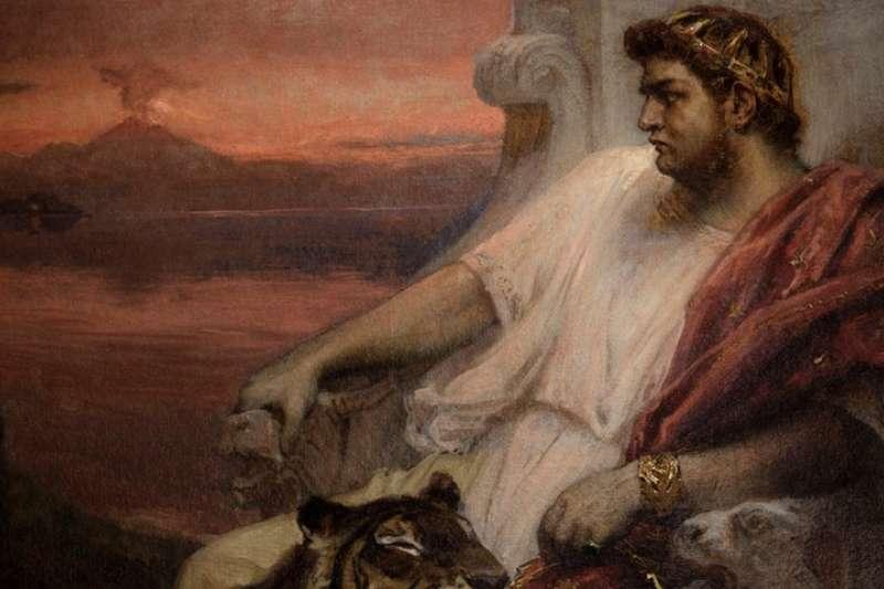 羅馬第五任皇帝尼祿‧克勞狄斯生活荒誕無稽。(圖/ 言人提供)