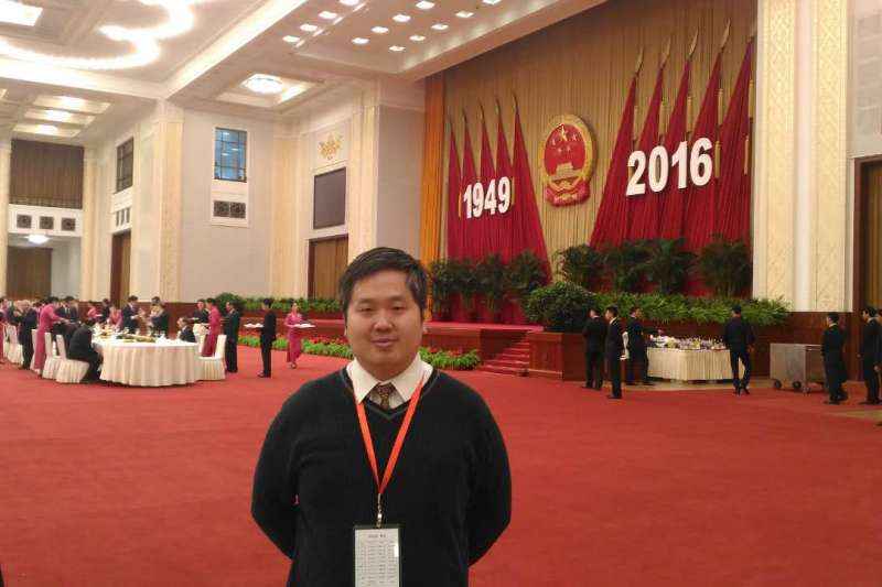 正在北京大學攻讀博士班的台灣留學生王裕慶表明將在明年申請加入中國共產黨。(資料照,取自中國台灣網網站)