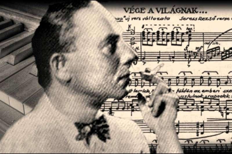 匈牙利音樂家作曲的《黑色星期天》是惡名昭彰的致命魔曲,據說有上百人聽過之後自殺。(圖/取自youtube)
