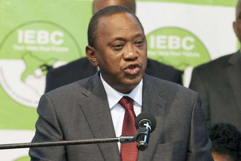 肯亞總統大選:現任總統肯亞塔順利連任(AP)