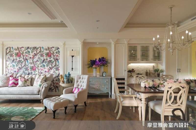 如果不知道家裡該如何布置,或許這些經典裝修風格能給你一些靈感!(圖/設計家Searchome提供)