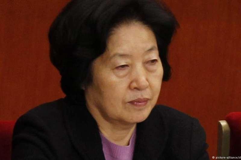 中共中央政治局唯一女性成員孫春蘭(德國之聲)