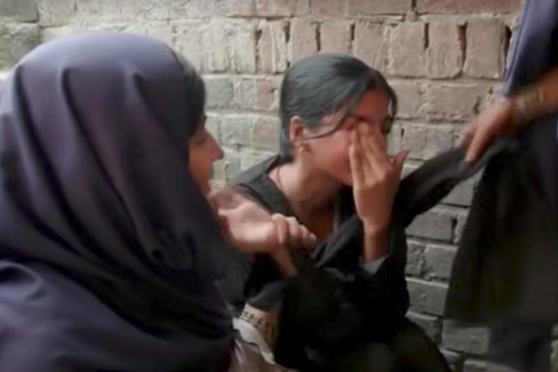 巴基斯坦女性長期遭受迫害。(網路截圖)