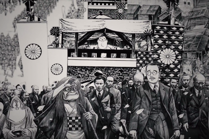 這部漫畫不但是昭和史,也是水木茂一生的寫照。(圖/遠足文化 Walkers@youtube)