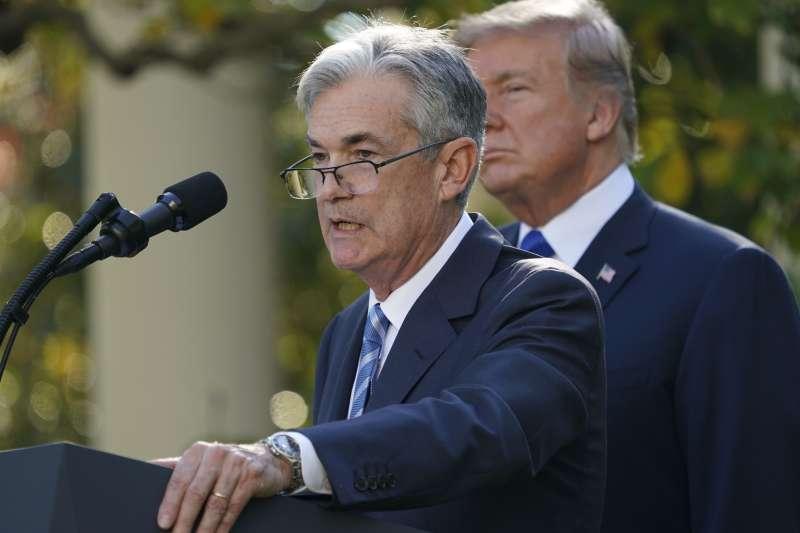 美國總統川普2日宣布提名聯準會(Fed)理事鮑威爾(Jerome Powell)接任主席。(AP)