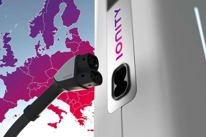 寶馬等多家德國汽車業鉅子3日與美國福特共同宣布,已合組一家名為「IONITY」的合資公司,推動在全歐洲內建立電動汽車的快速充電網。(IONITY)