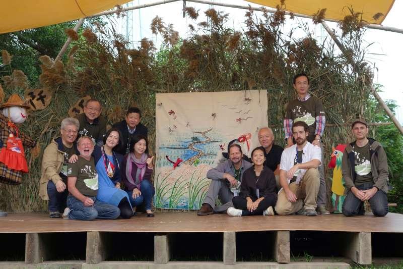 2017關渡國際自然藝術季5日正式展開,以「阡陌之間」活動主題為核心,傳遞關渡農田文化。(取自關渡國際自然藝術季官網)