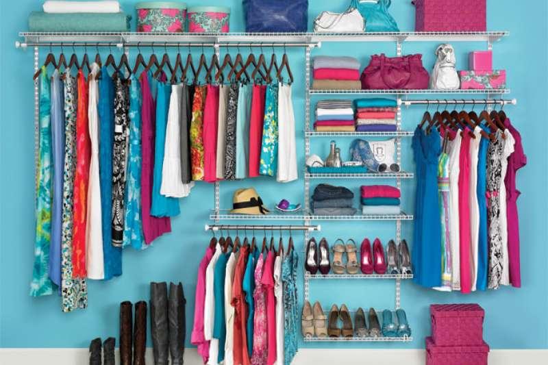 把衣服收納乾淨,不僅看得心情好,也方便找到自己想要的。(圖/TEIA@flickr)