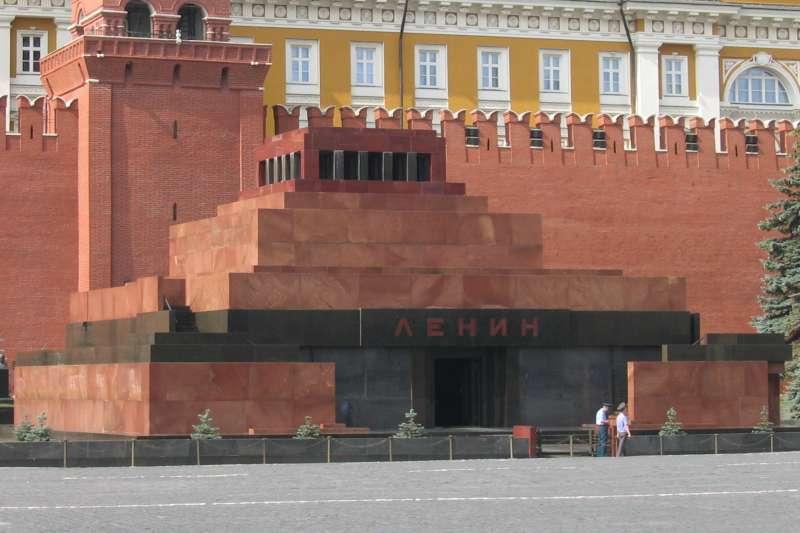 位於莫斯科紅場的列寧墓。(Mauzoleum Lenina@Wikipedia / CC BY 2.0)