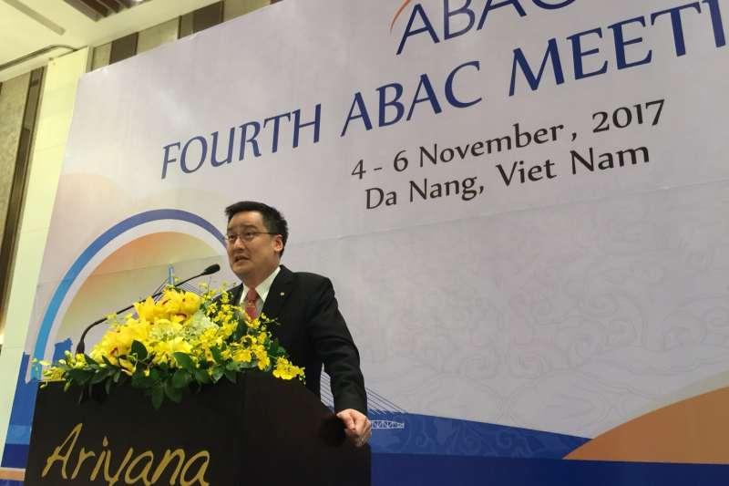 丁善理紀念基金會董事長丁廣欽參加APEC企業諮詢委員會。(丁善理基金會提供)