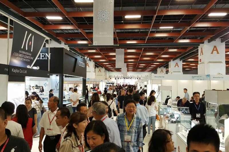 臺灣珠寶首飾展覽會(Taiwan Jewellery & Gem Fair,FACEBOOK)