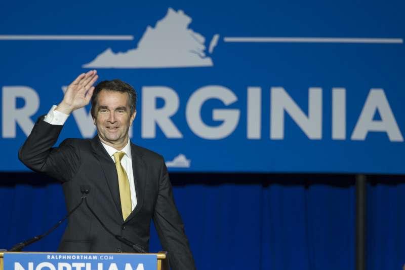 美國維吉尼亞州長選舉:民主黨候選人諾桑姆驚險勝出(AP)