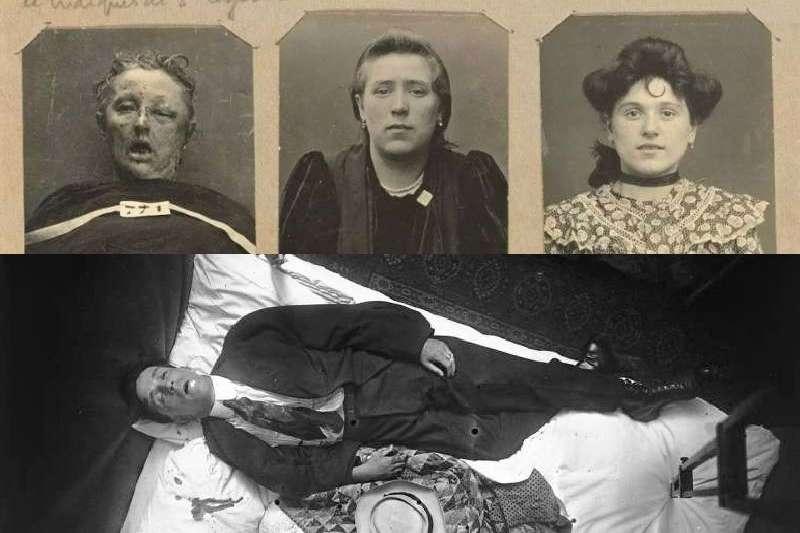 100年前這位害羞的警察拍下命案現場的遺體照片,在當時被批評侮辱死者,卻為當代的科學辦案開創先河。(圖/言人文化)