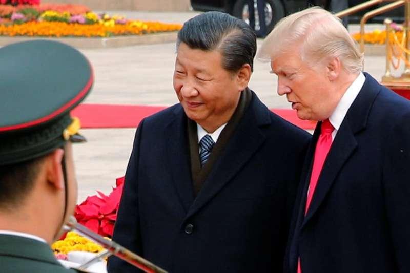 川普訪華稱貿易上不怪責中國 促習近平盡快解決北韓問題。(BBC中文網)