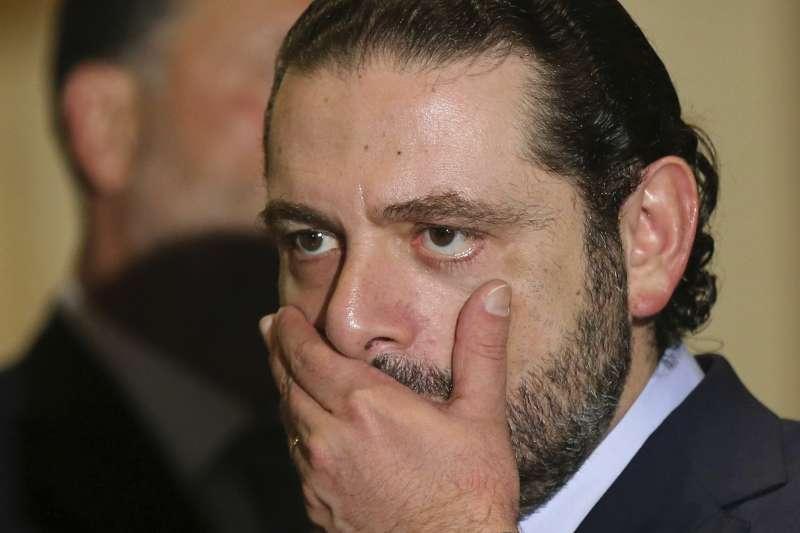黎巴嫩總理哈里里。(美聯社)