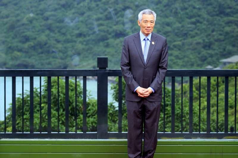 2017年APEC越南峴港峰會,新加坡總理李顯龍出席。(美聯社)