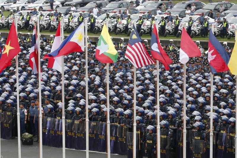 2017年適逢東協(ASEAN)成立50年,東協峰會在菲律賓召開(AP)
