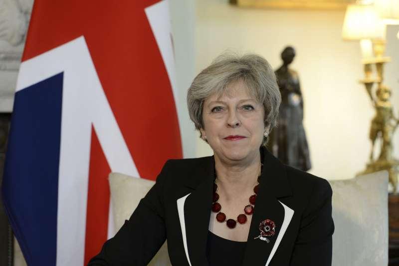 英國首相梅伊(AP)