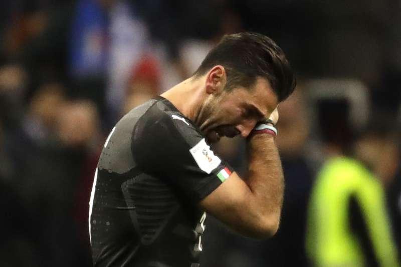 2018世足賽:義大利門將布馮抱憾退休(AP)