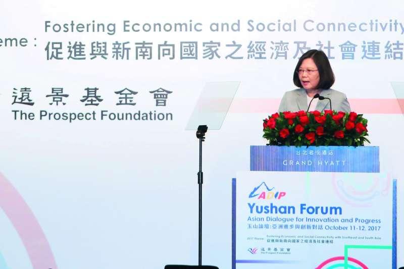 台灣能否融入「印太戰略」的範疇,蔡政府的「新南向政策」此刻就可以發揮妙用。(柯承惠攝)