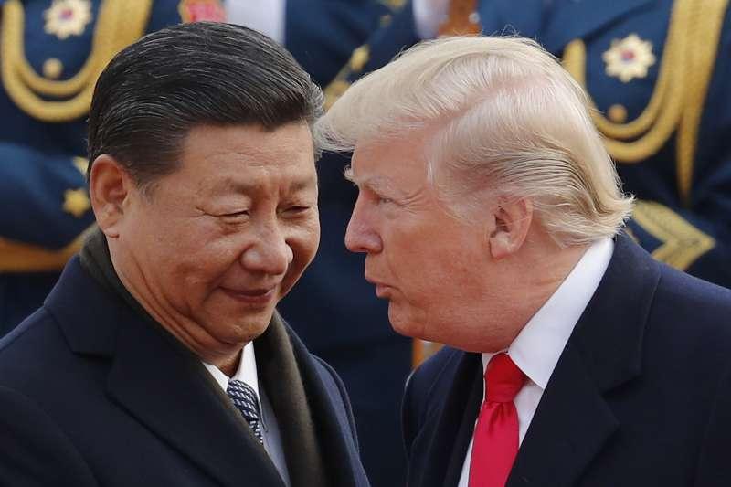 美國總統川普與中國國家主席習近平對蔡政府失去耐性了嗎?(AP)