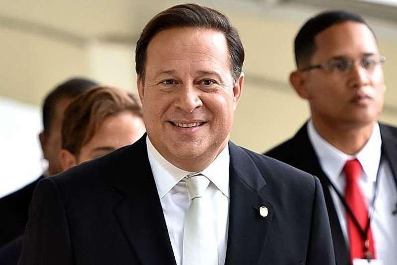 巴拿馬總統瓦雷拉。