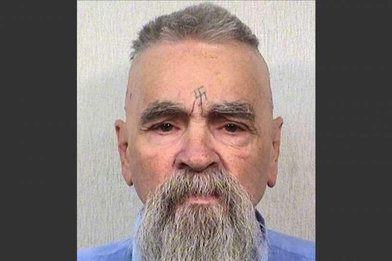 美國世紀殺人魔曼森,2014年攝於獄中。(AP)