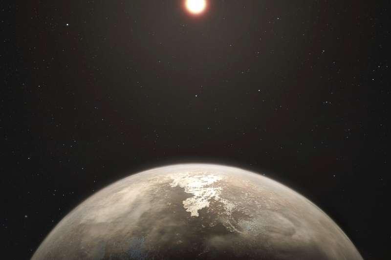 天文學家發現一顆系外行星,與地球大小相似、溫度適中,可能有生命存在。(資料照,美聯社)