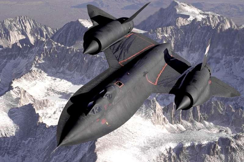 SR-71黑鳥式偵察機。(維基百科/公用領域)