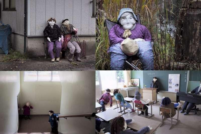 日本有一個陰森詭異的娃娃村,但這個村子出現的故事卻讓眾人都心疼...(圖/言人文化提供)