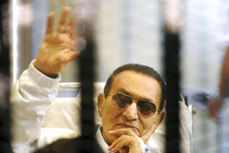前埃及總統穆巴拉克(Hosni Mubarak)(AP)