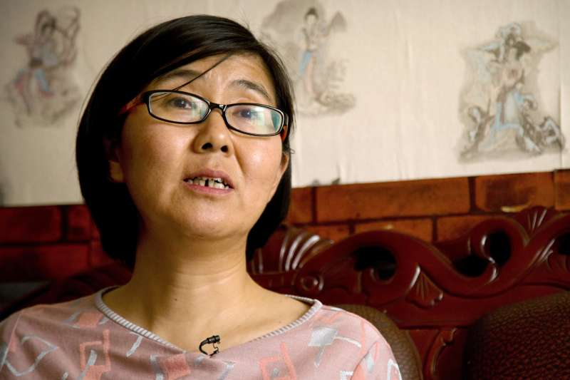 維權律師王宇被RSDL這個中國國家許可的綁架行動系統所處置。(資料照,美聯社)